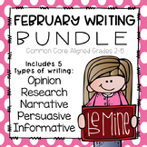 February Writing- Common Core Aligned