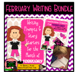 February Writing Bundle (Conversation Starters, Morning Me