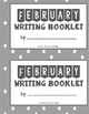 February Writing Calendar and Booklet (Non-editable Version)