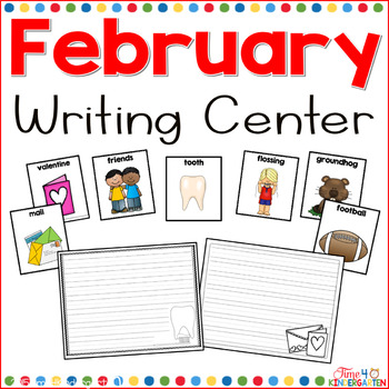 February Writing Center for Kindergarten and First Grade