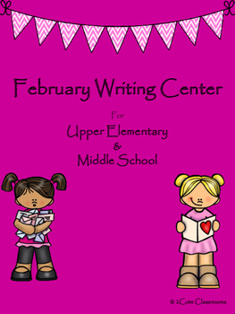 February Writing Center for Upper Elementary & Middle Scho