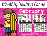 February Writing Center Cards