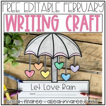 February Writing Craft FREEBIE