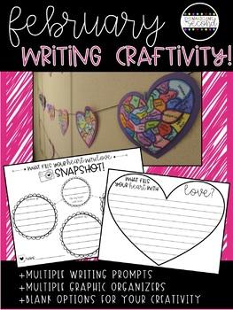 February Writing Craftivity!