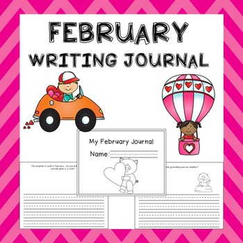 February Writing Activities / February Journal