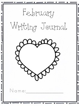 Kindergarten Writing Journal February