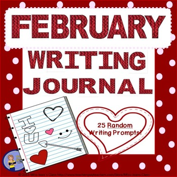 February Daily Writing Journal