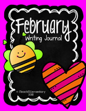 February Writing Journal {NO PREP}