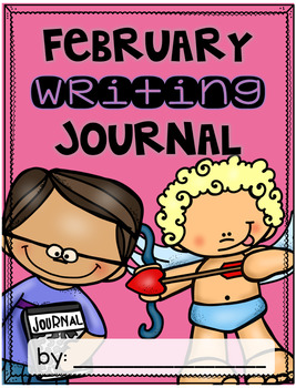 February Writing Journal {3 different levels}