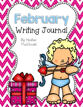 February Writing Journal Cover