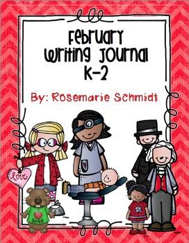 February Writing Journal K-2