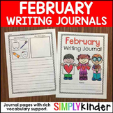 February Writing Journals
