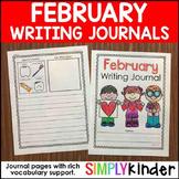 February Writing Journals