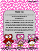 February Writing Menu with Graphic Organizers and Paper. Freebie Included!