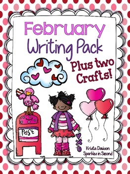 February Writing Pack Plus Two Crafts