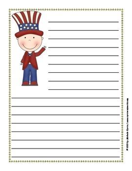 February Writing Paper Pack