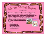 February Writing Projects (CCS Aligned k-2)