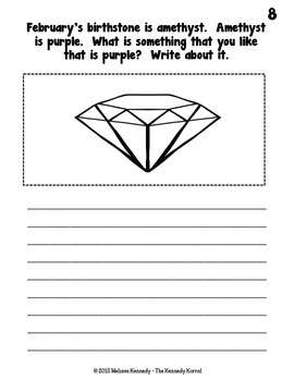 Writing Prompts: February