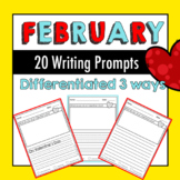 60+ Pages of February Writing Prompts!