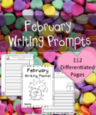 February Writing Prompts - February Themed Writing Prompts Journal (Gr. K-2)