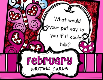 February Writing Prompts