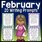 February Writing Prompts: 20 Writing Ideas to last all month long!