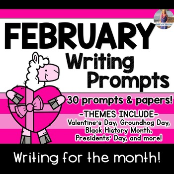 February Writing Prompts *30 prompts!*