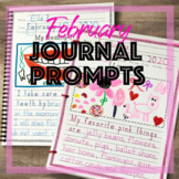 February Writing Prompts - Journal Prompts for Daily Writi