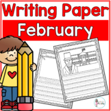 February Writing Prompts & Paper