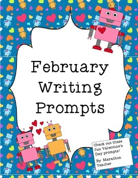 February Writing Prompts (Valentine's)