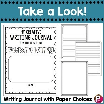 February Writing Prompts and Journal