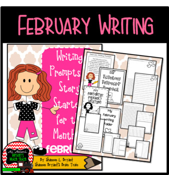 Bell Ringer February Writing Prompts and Story Starters