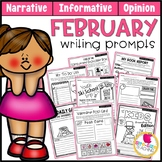 February Writing Prompts | Real-World and Draw & Write Formats