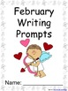 February Writing Prompts on Themed Paper {Just Print & Go!}