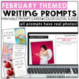 February Writing Prompts | Digital | Real Photos