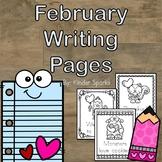 February Writing Station