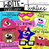 February Writing Prompts | Valentine's Day, Groundhog's Da