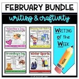 February Writing and Craftivity Bundle