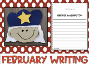 February Writing with Page Toppers...Simple Crafts and Writing Activities!