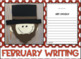 February Writing with Page Toppers...Simple Crafts and Wri