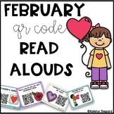 February and Valentines Day QR Code Read Alouds