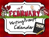 February and Winter Writing Prompt Calendar ~ {Common Core Standards}