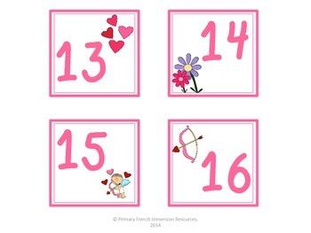 February calendar squares