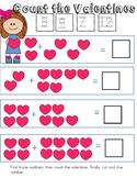 February counting worksheet