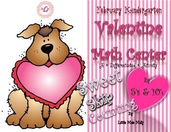 February Kindergarten Valentine Math Center