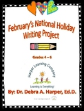 February's National Holiday Writing Project