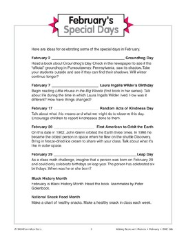 February's Special Days
