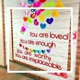 February Bulletin Board, Hearts Bulletin Board, Kindness Bulletin board