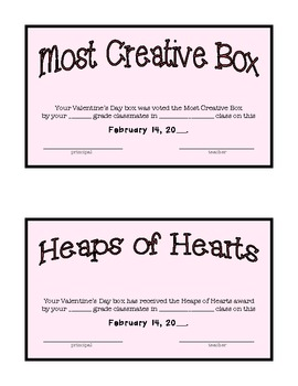 February/Valentine's Day Math and Word Work Activities