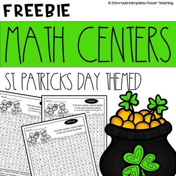February's Freebies no1 St. Patrick's Math